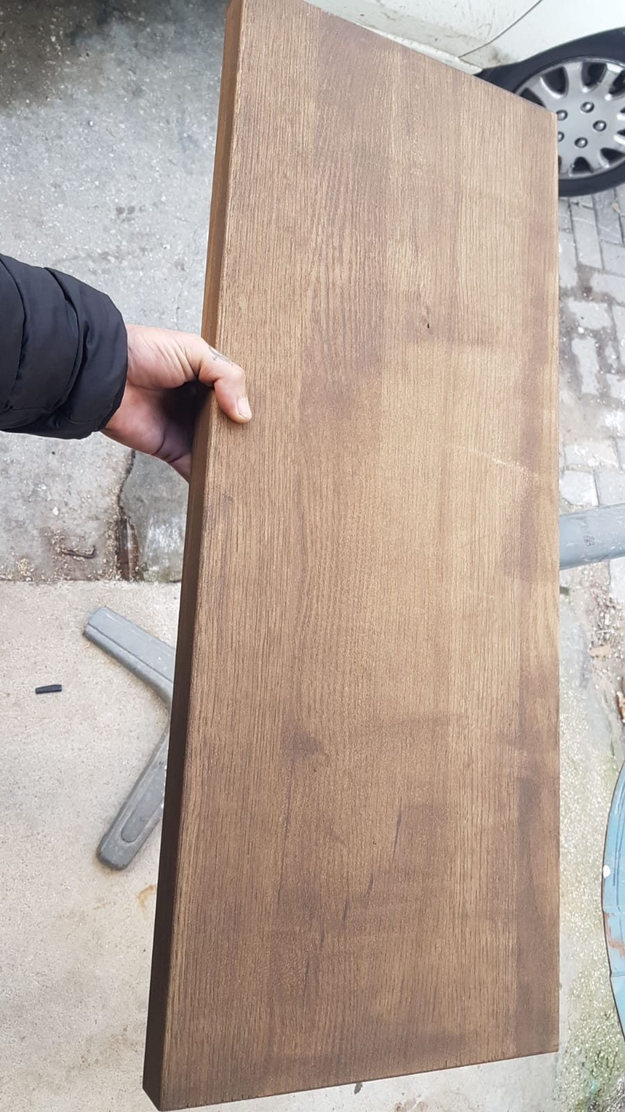 פלטת עץ למדרגות