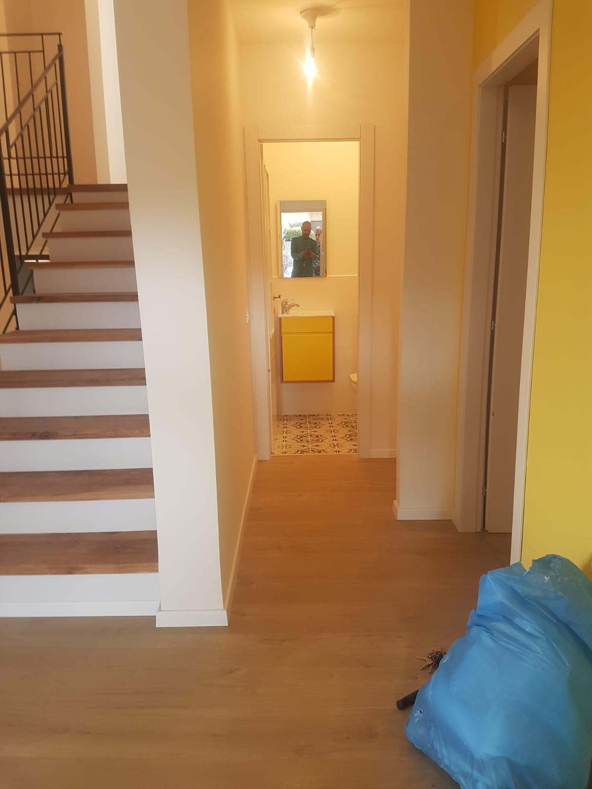 מדרגות עץ ופרקט לבית